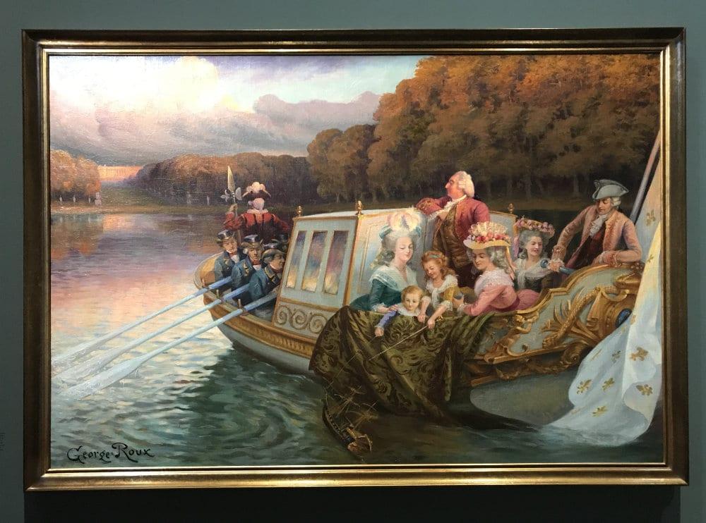 Chateau de Versailles boat trip by Marie Antoinette