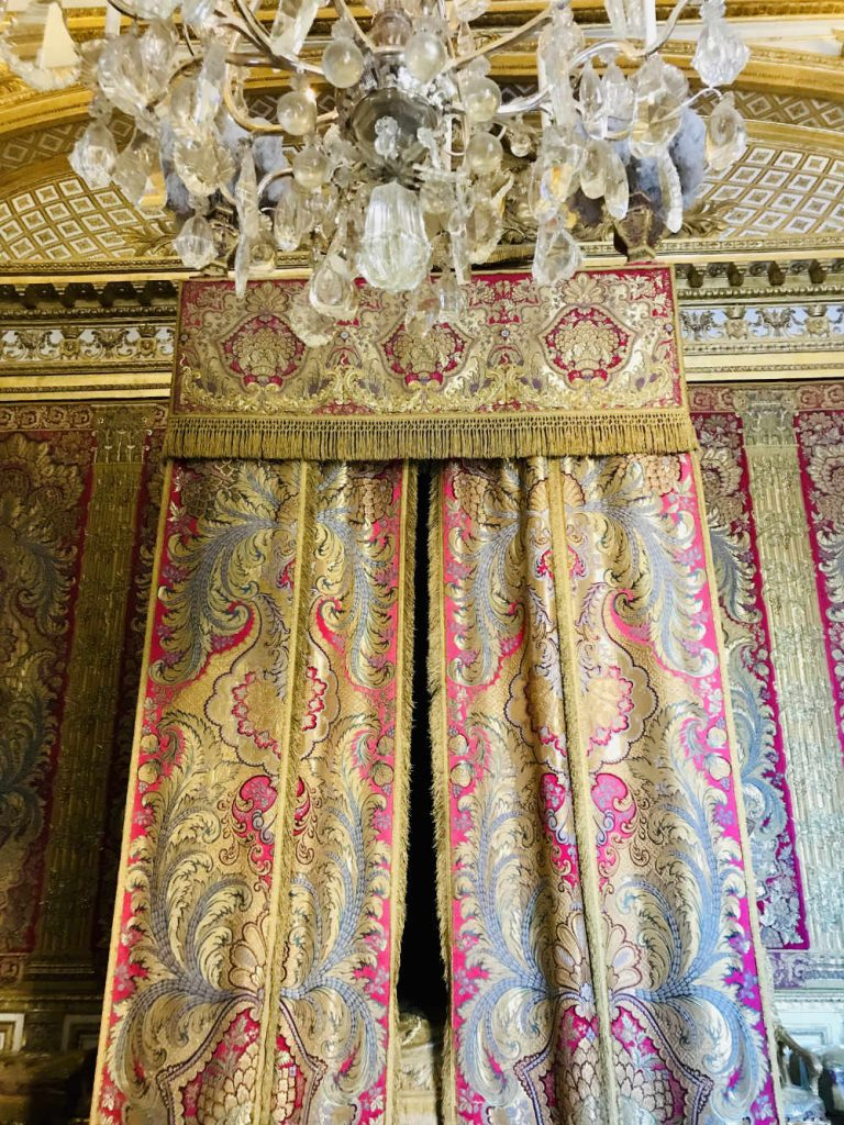 Queen's apartments at Palace of Versailles