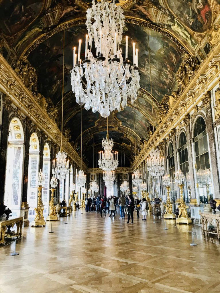Hall of Mirrors Chateau de Versailles