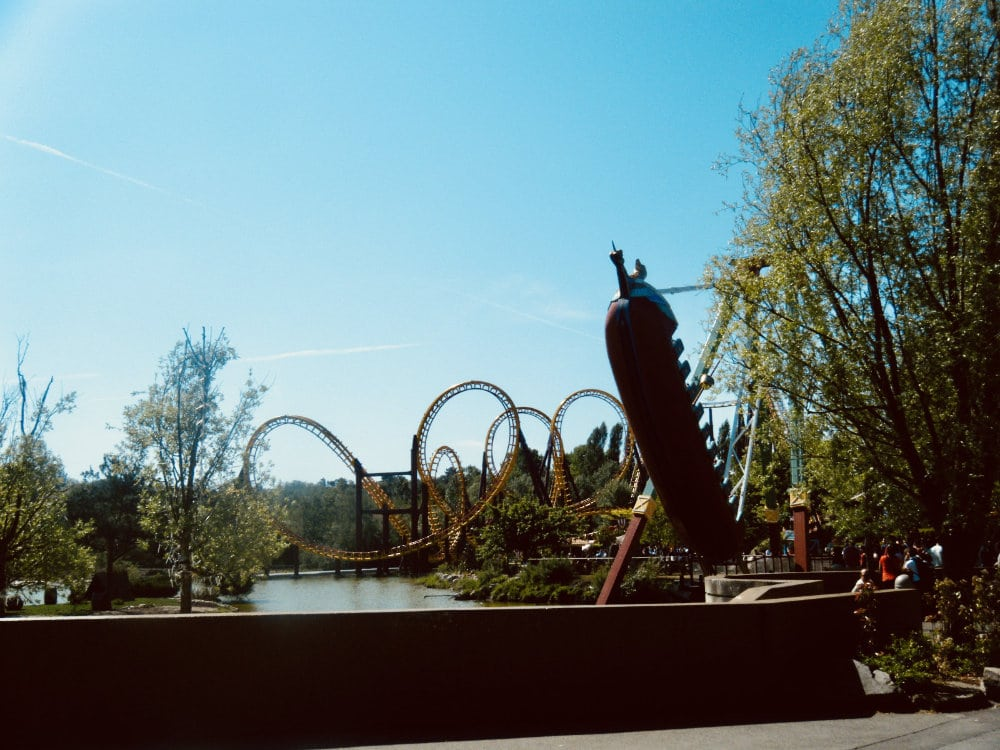 Rollercoasters at Parc Asterix