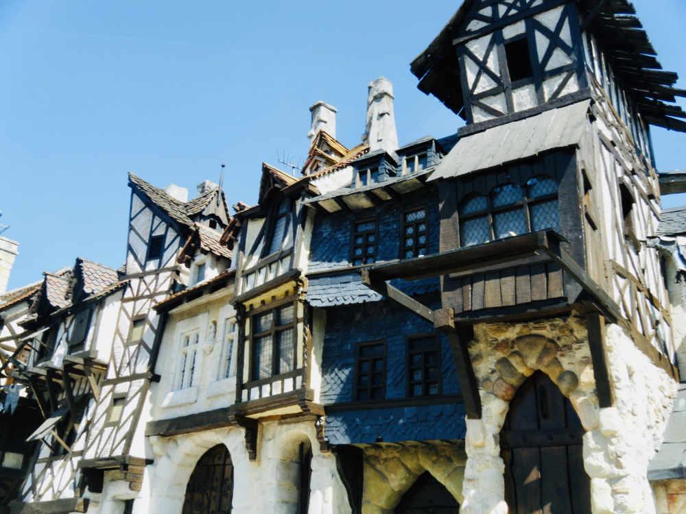 Medieval village at Parc Asterix