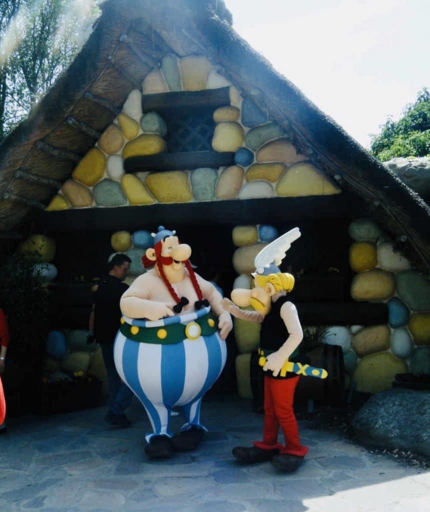 Asterix and Obelix at Parc Asterix