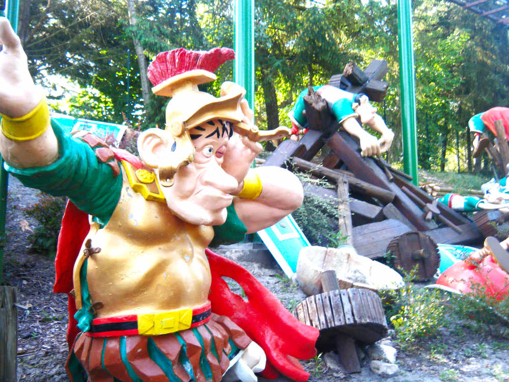 Romans at Parc Asterix
