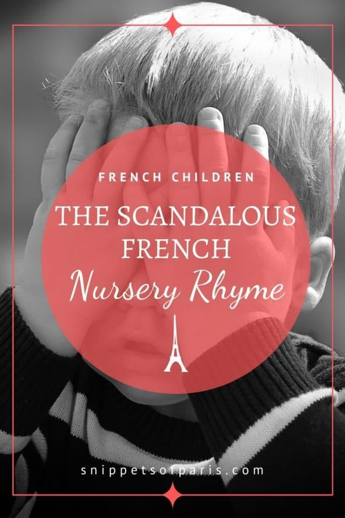au clair de la lune, the scandelous French nursery rhymes pin
