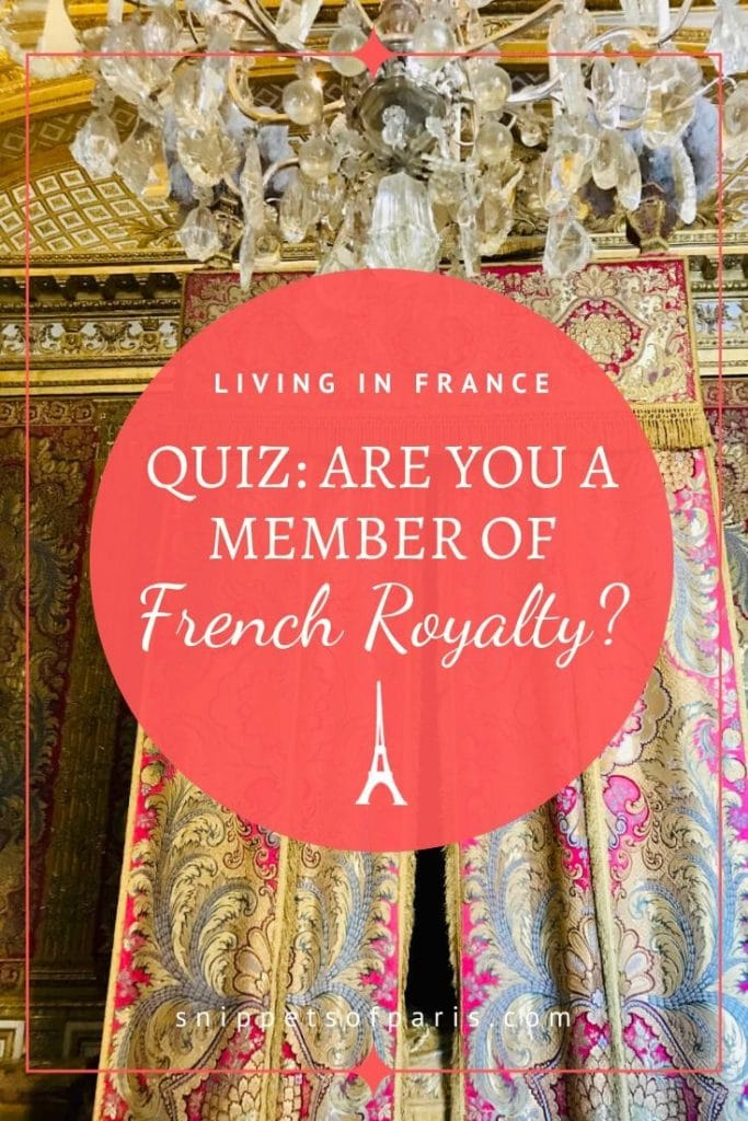 Quiz: Which French Royal Family Member are you? 1
