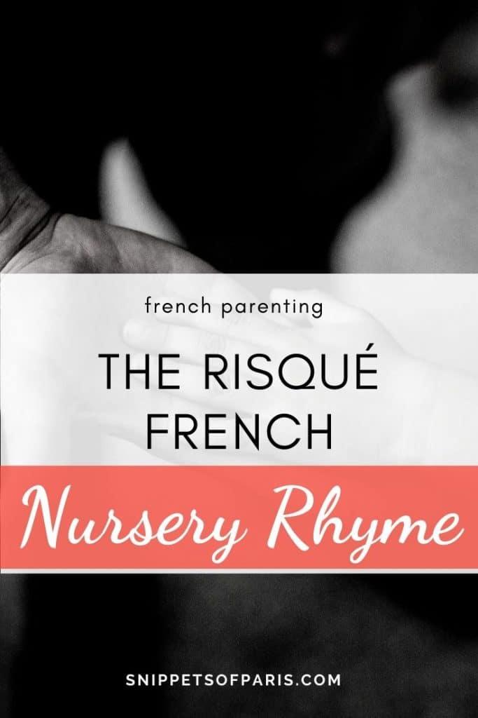French nursery rhymes pin