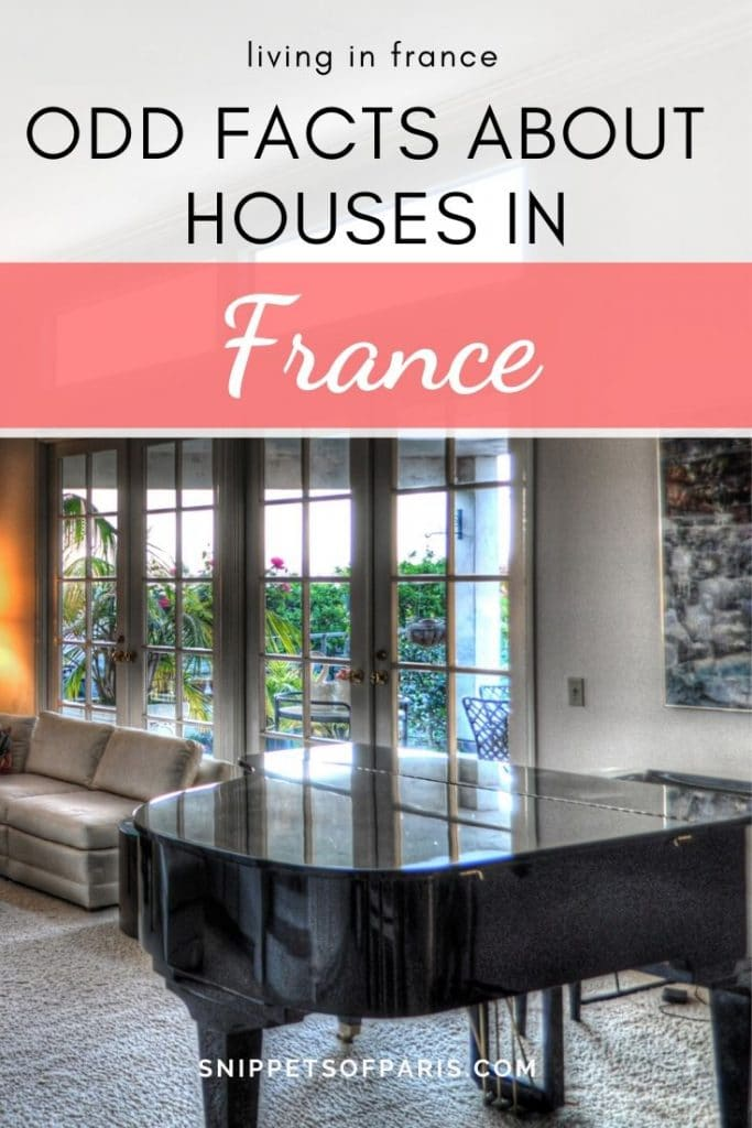 8 Strange Differences to know before buying a House in France 2