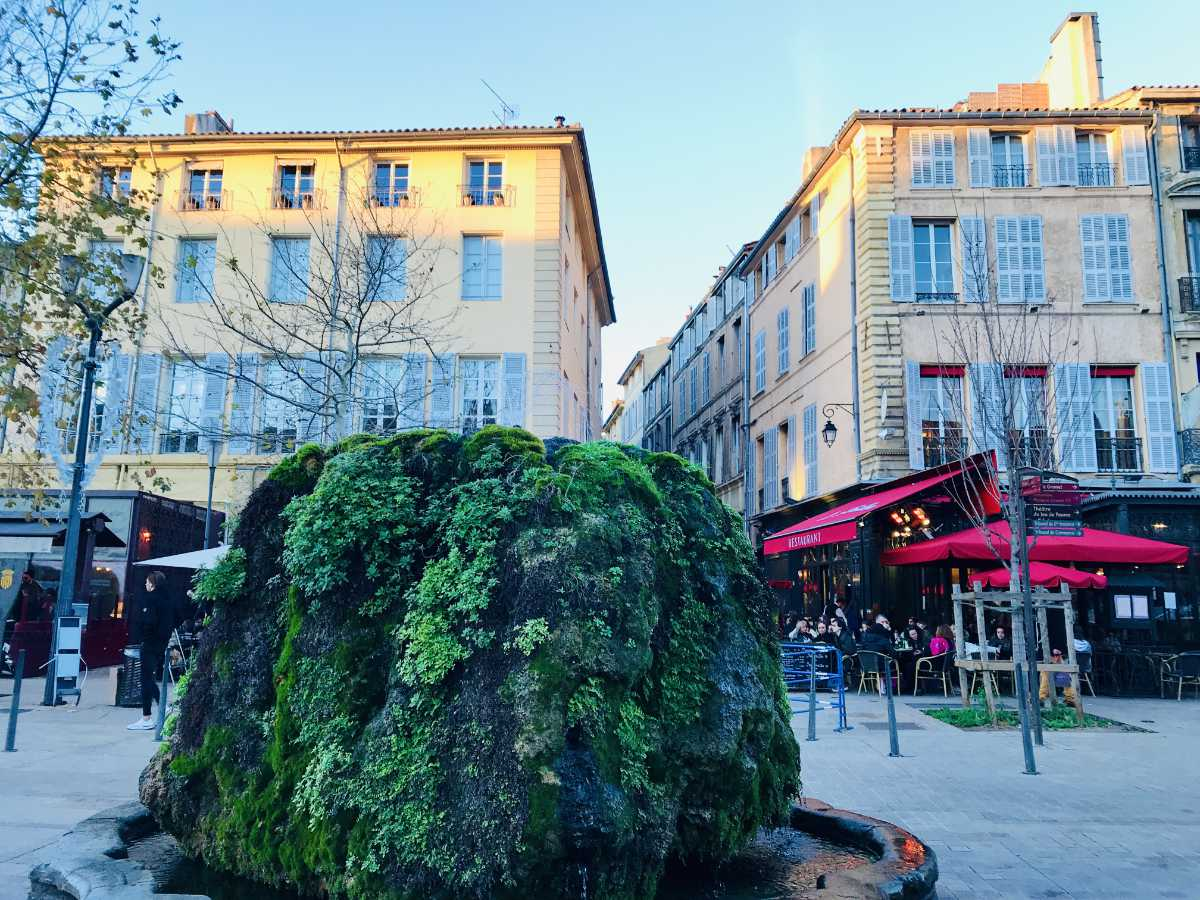 Chic in Aix-en-Provence: Spas, Artists, and Lavender fields