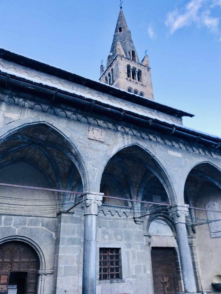 Church at La Salle des Alpes