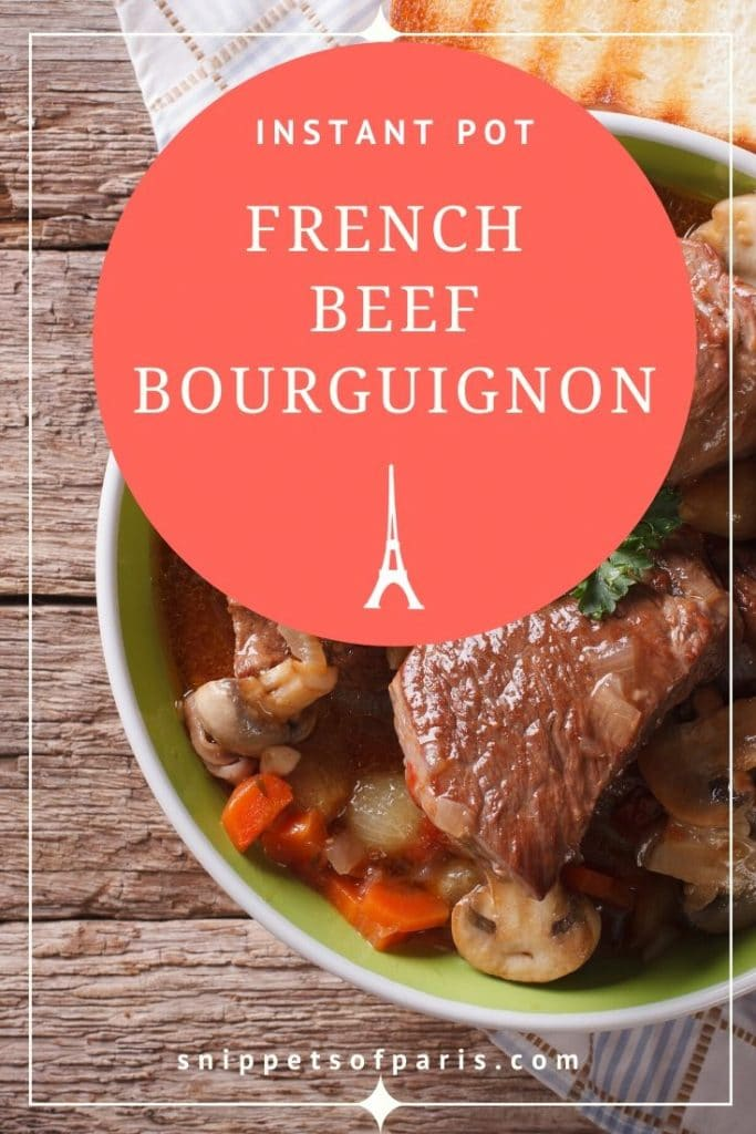 Beef Bourguignon Recipe in Instant Pot: The French Stew 2