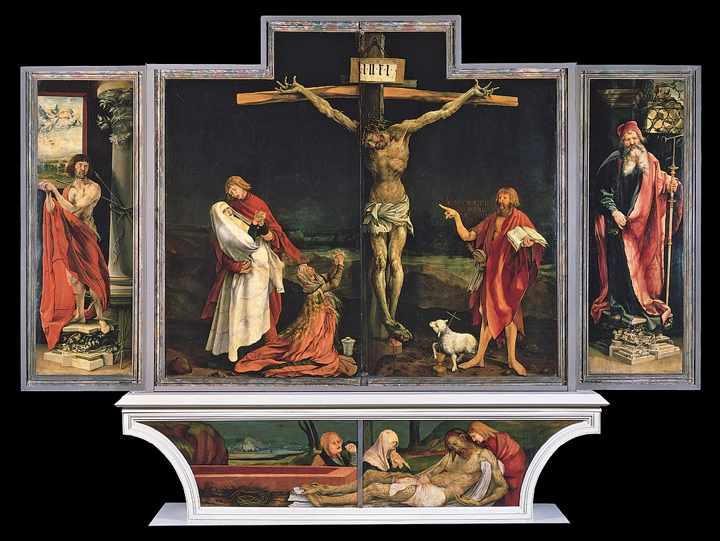 Isenheim altarpiece in Colmar France