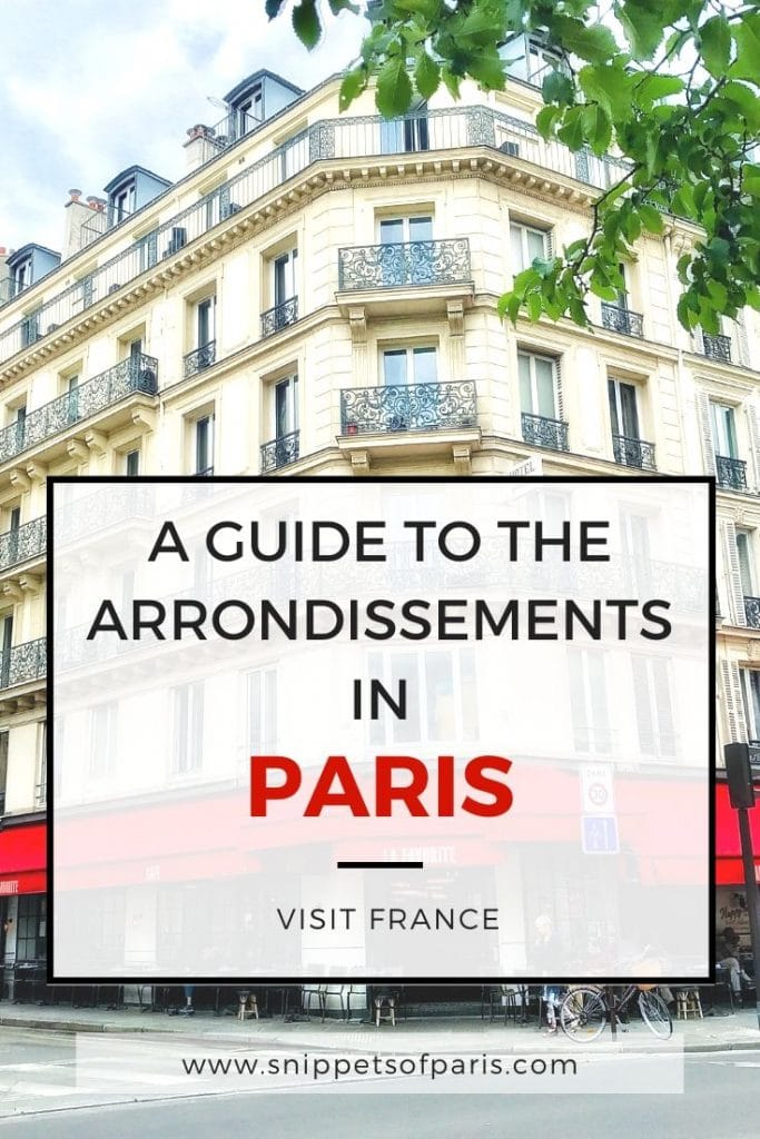 20 Paris Arrondissements: The Quick & Dirty Guide 2