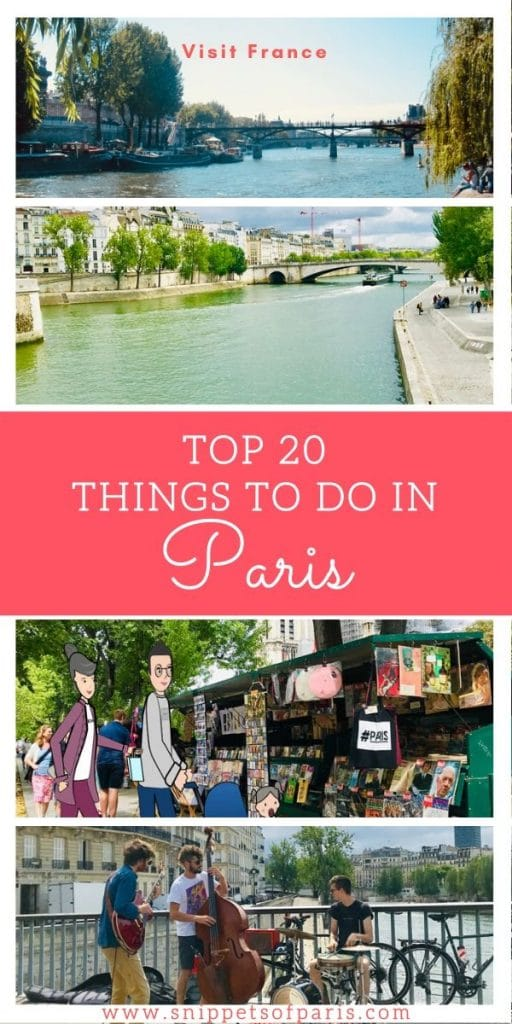 Bucket-List: Top 20 Things to do in Paris 2