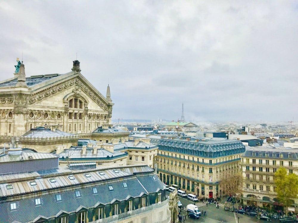 Rooftop terrasse in Paris