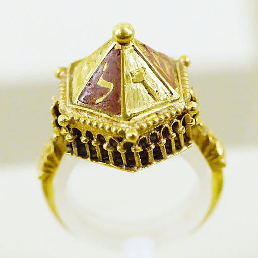 Jewish wedding ring from Colmar France