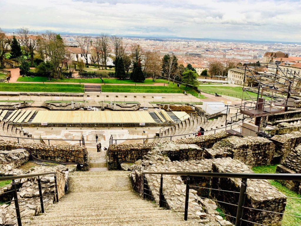 Lyon Ancient theatre of Fourvière