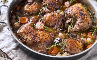 Coq au Vin: The Classic French Chicken Stew in Instant Pot (Recipe)