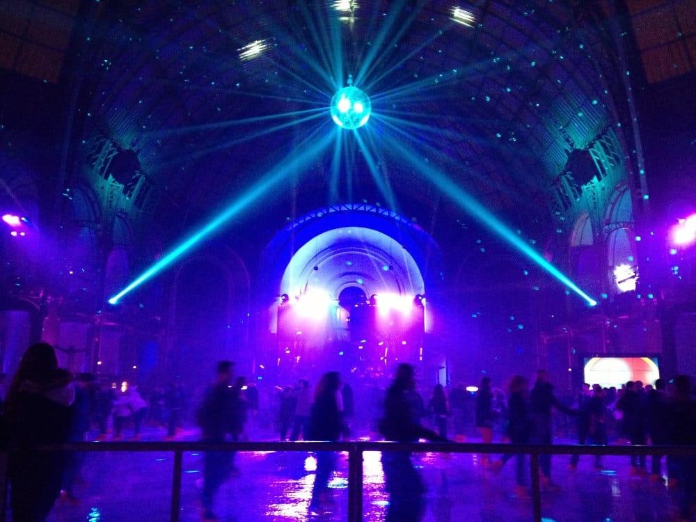 Grand Palais in Paris at night