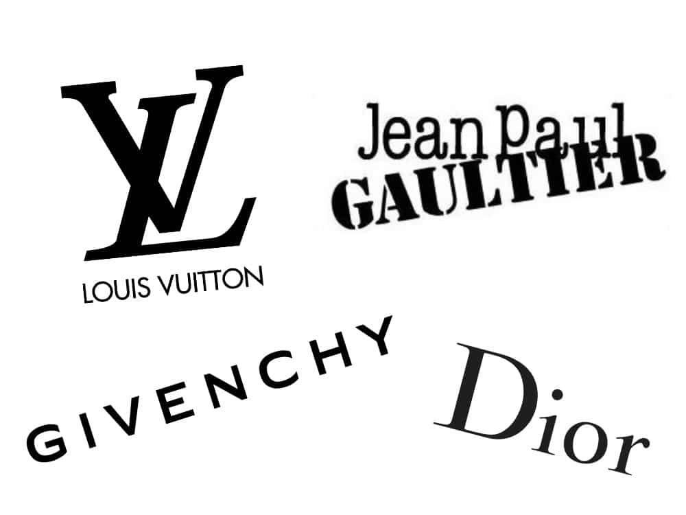 French fashion logos