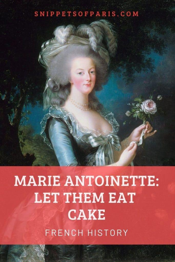 Marie-Antoinette in France pin