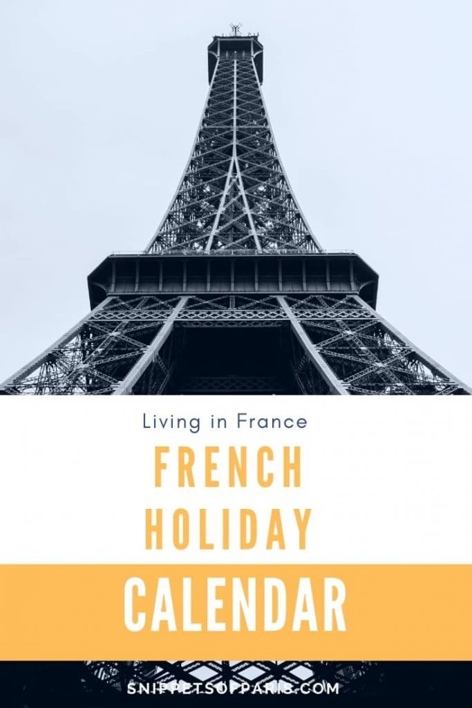 french celebrations calendar pin