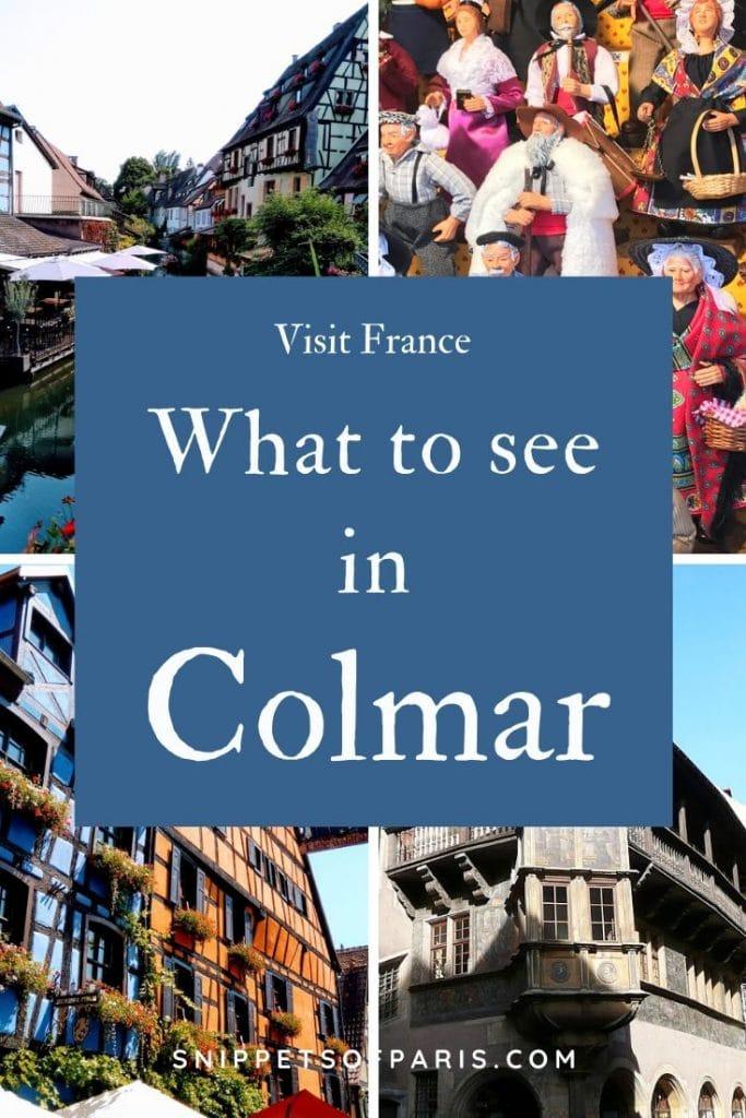 Visit Colmar pin