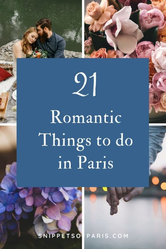21 Romantic Things to do in Paris for couples 4