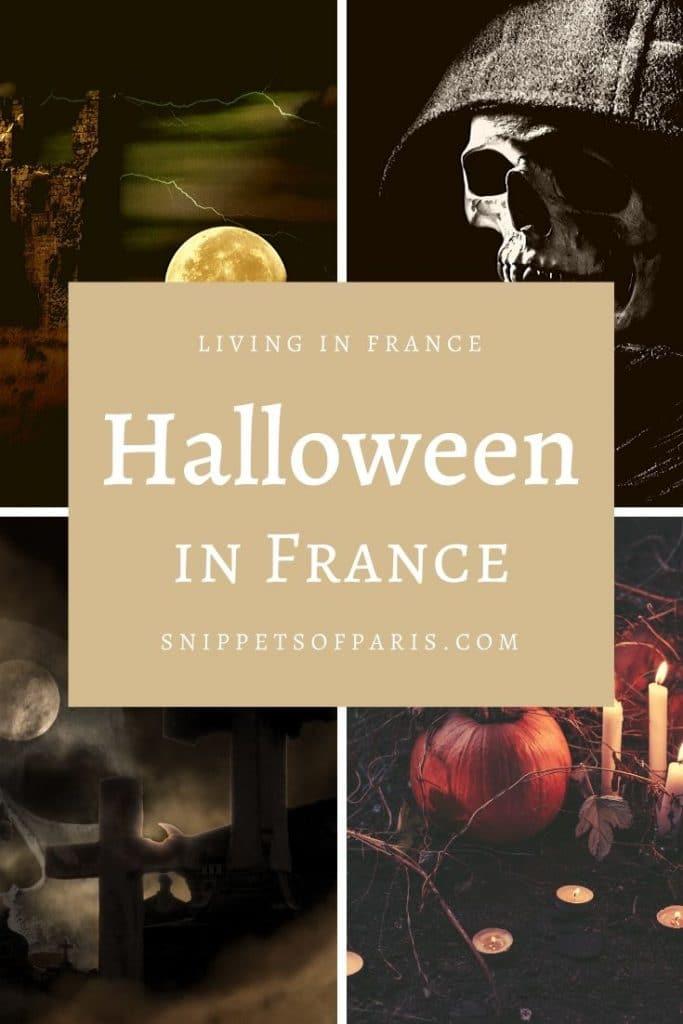 Halloween in France pin for pinterest