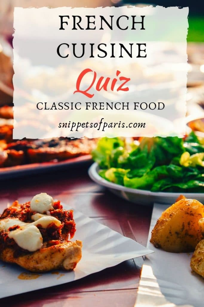 french cuisine quiz pin