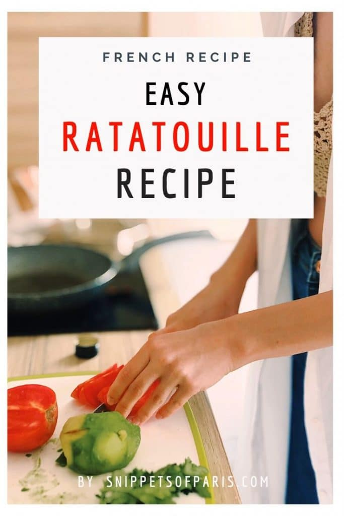 The classic French Ratatouille Recipe 3