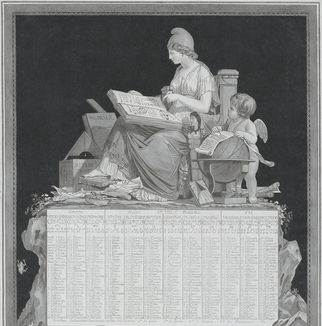 French Revolutionary Calendar (When France tried to change time!)