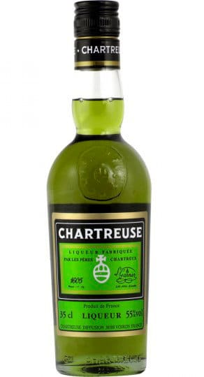 bottle of chartreuse