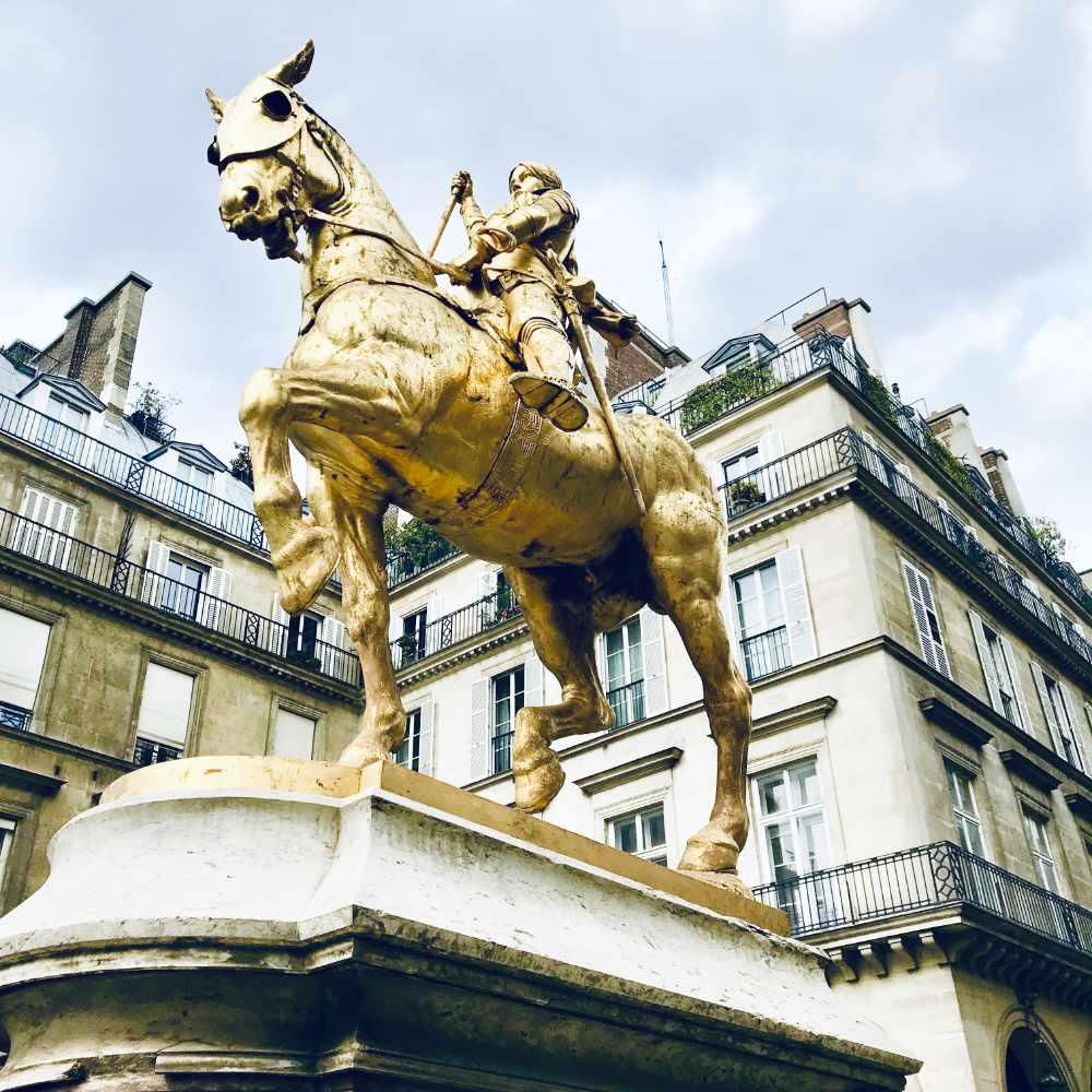 Jeanne d'Arc in Paris
