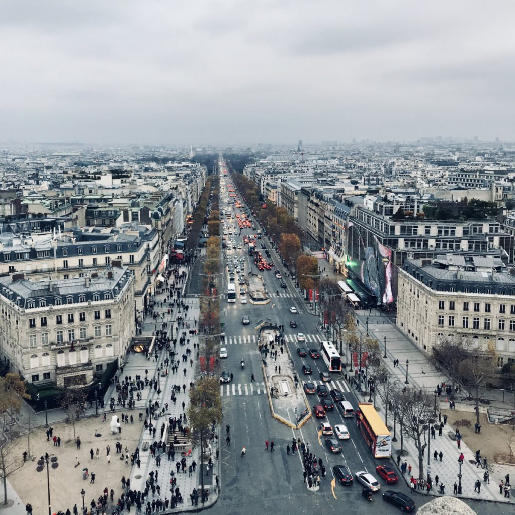 Arc de Triomphe Romantic things to do in Paris