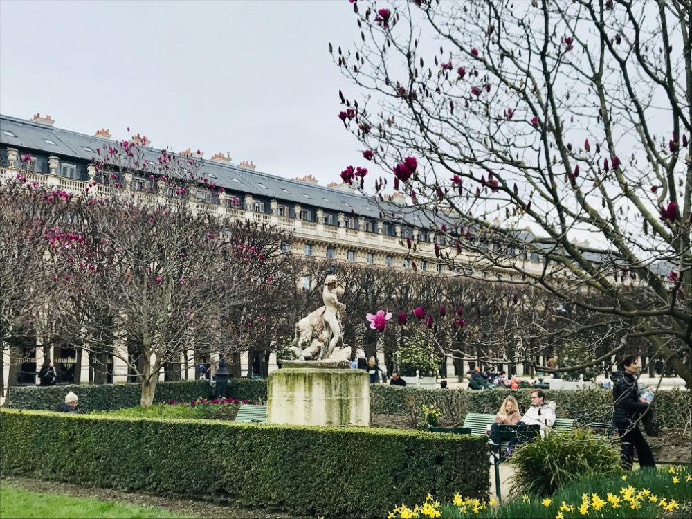 Palais Royale in Paris