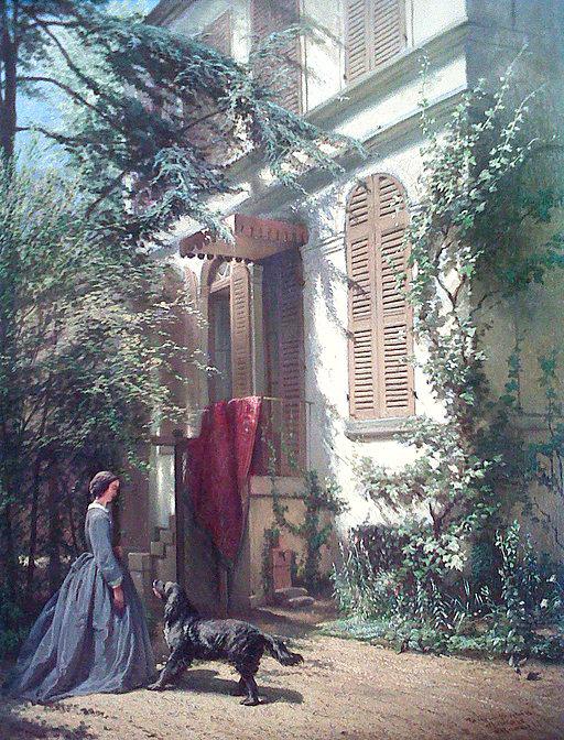The Garden at rue Chaptal par Arie Johannes Lamme, at Musée de la Vie Romantique