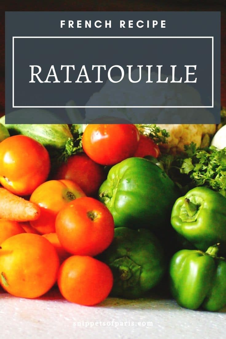 The classic French Ratatouille Recipe