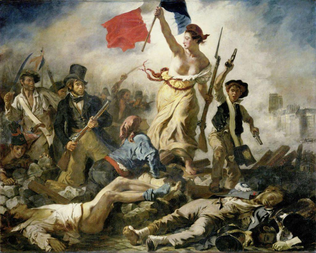 Eugene Delacroix - Liberty leading the people