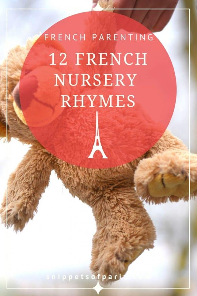 French nursery rhymes pin for pinterest