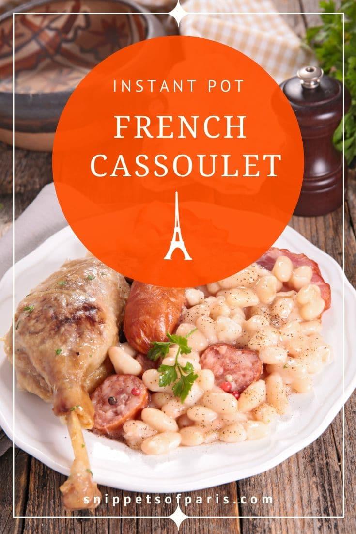 Instant Pot: Easy Cassoulet recipe for modern times