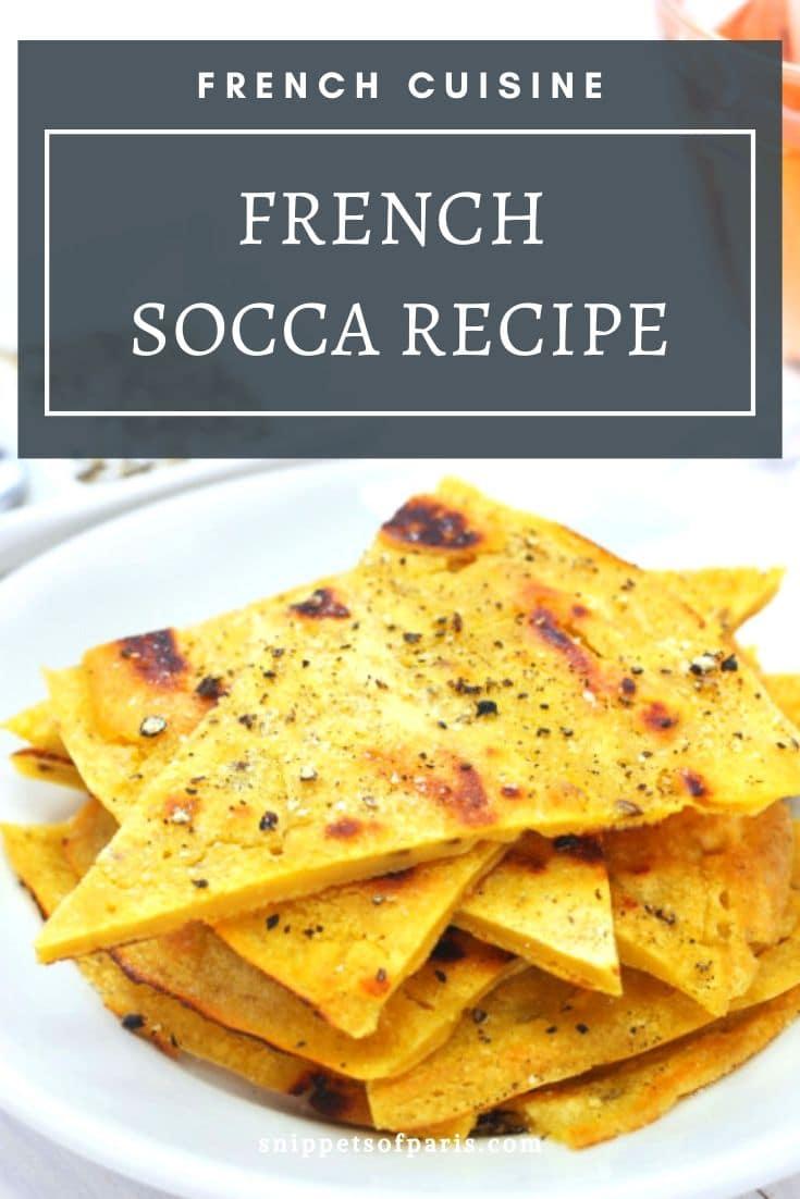 Socca Recipe: The (Gluten-free) French Appetizer 1