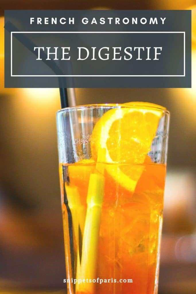 French Digestifs pin for pinterest
