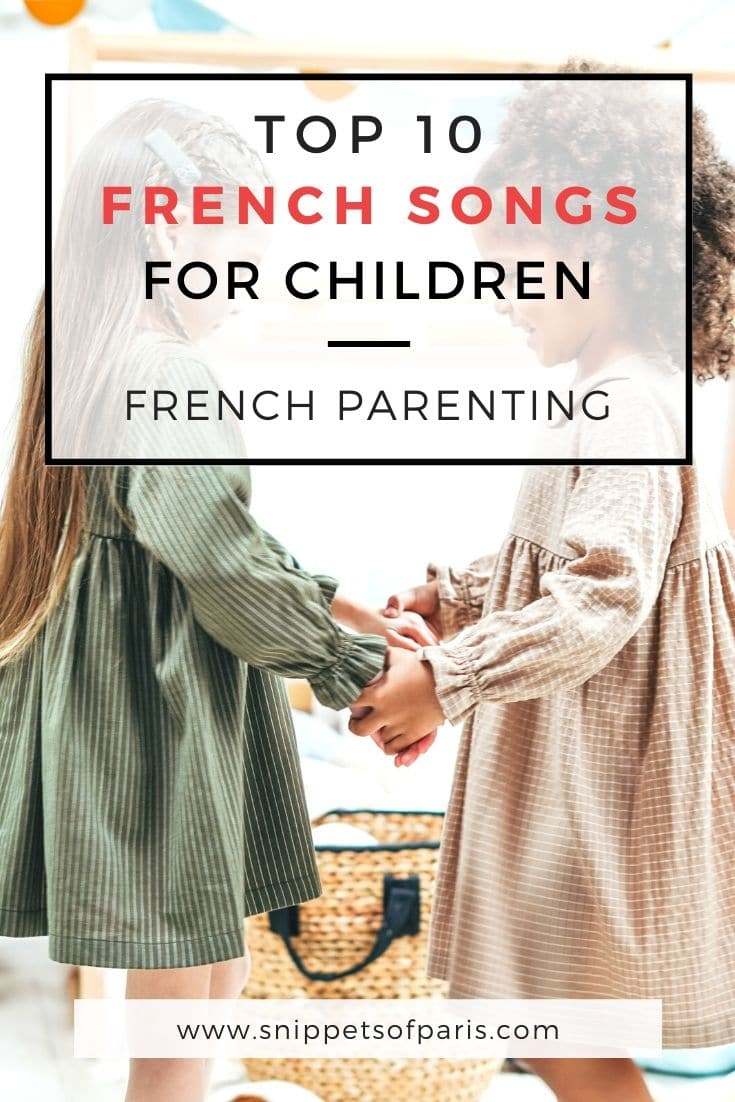 10 Popular French Songs for Kids (lyrics and audio)