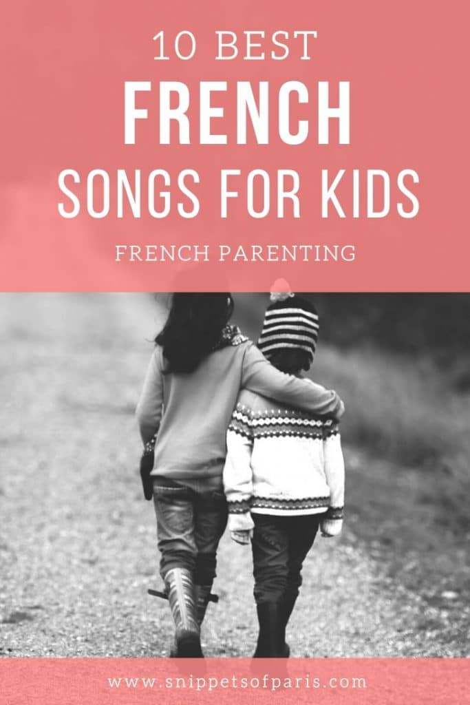 10 Popular French Songs for Kids (lyrics and audio) 2