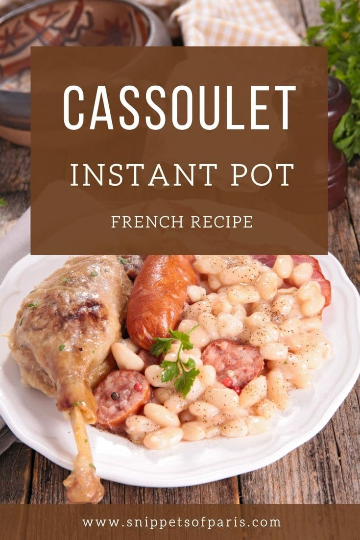 Instant Pot: Easy Cassoulet recipe for modern times 1