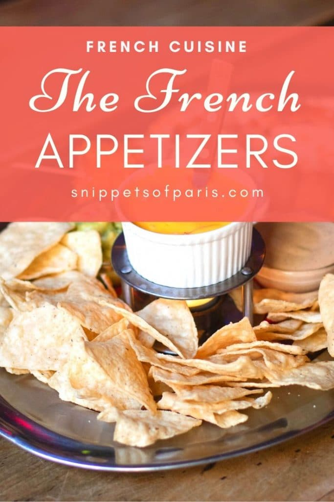 French appetizers pin for pinterest