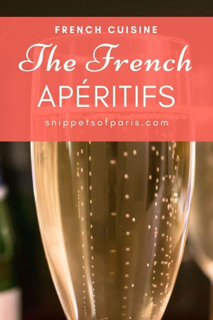 French apéritifs pin for pinterest
