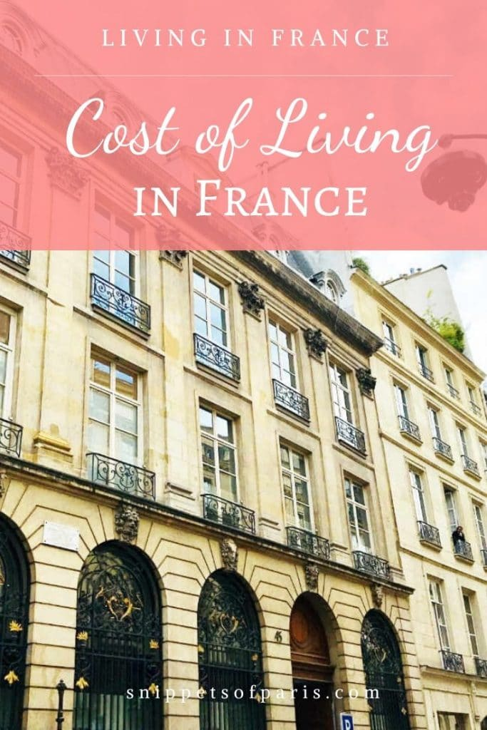 Anatomy of the Cost of Living in Paris, France (2020) 1
