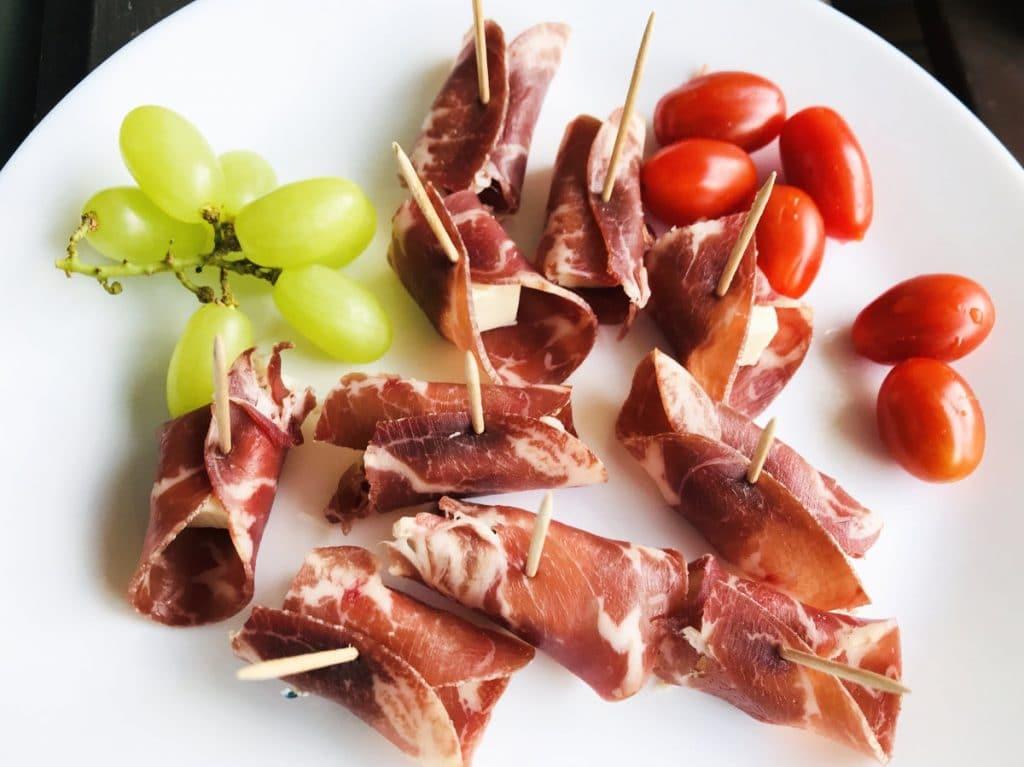 Jambon Rouleaux de chèvre will