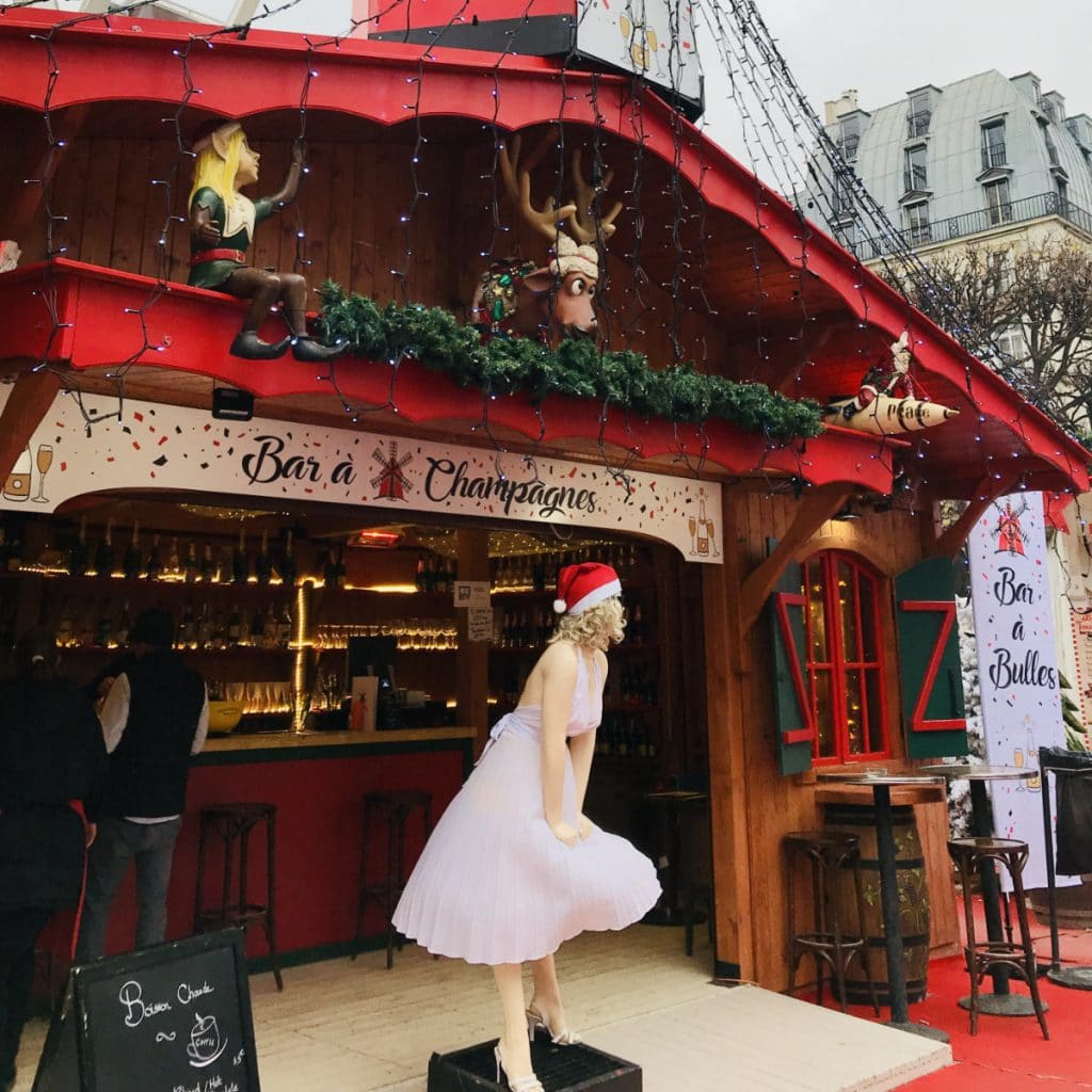 Marché de Noel in Paris